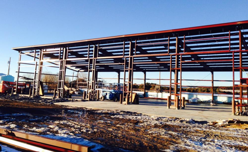 Cdot Norwood 6 Bay Vehicle Storage Facility Ford